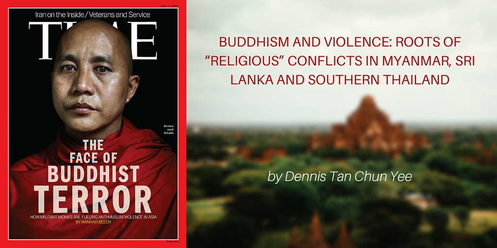 buddhism and violence  roots of  u201creligious u201d conflicts in