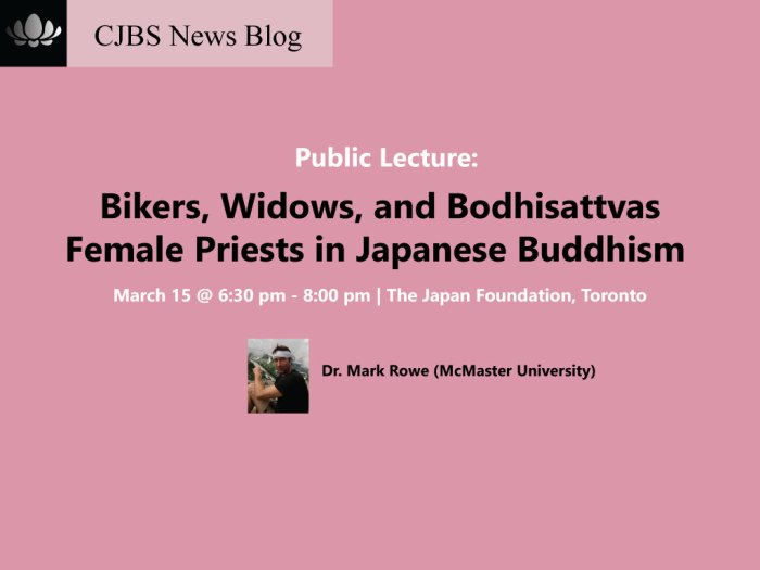 mark rowe female priests japan buddhism