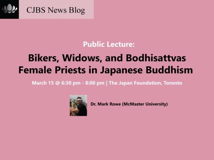 mark rowe female priests japan buddhism