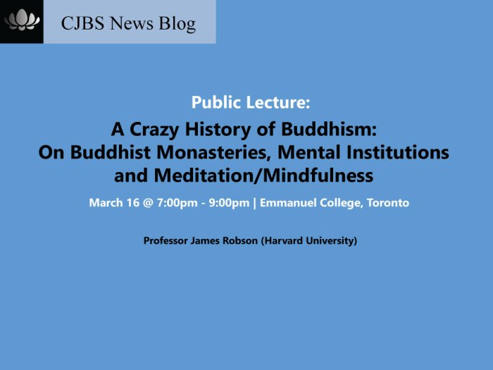 buddhist monasteris mindfulness meditation mental institutions
