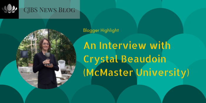 An Interview with Crystal Beaudoin (McMaster University)