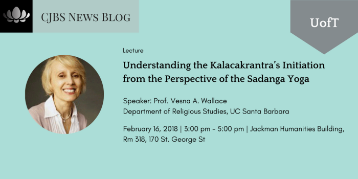Understanding the Kālacakrantra's Initiation from the Perspective of the Ṣaḍaṅga Yoga