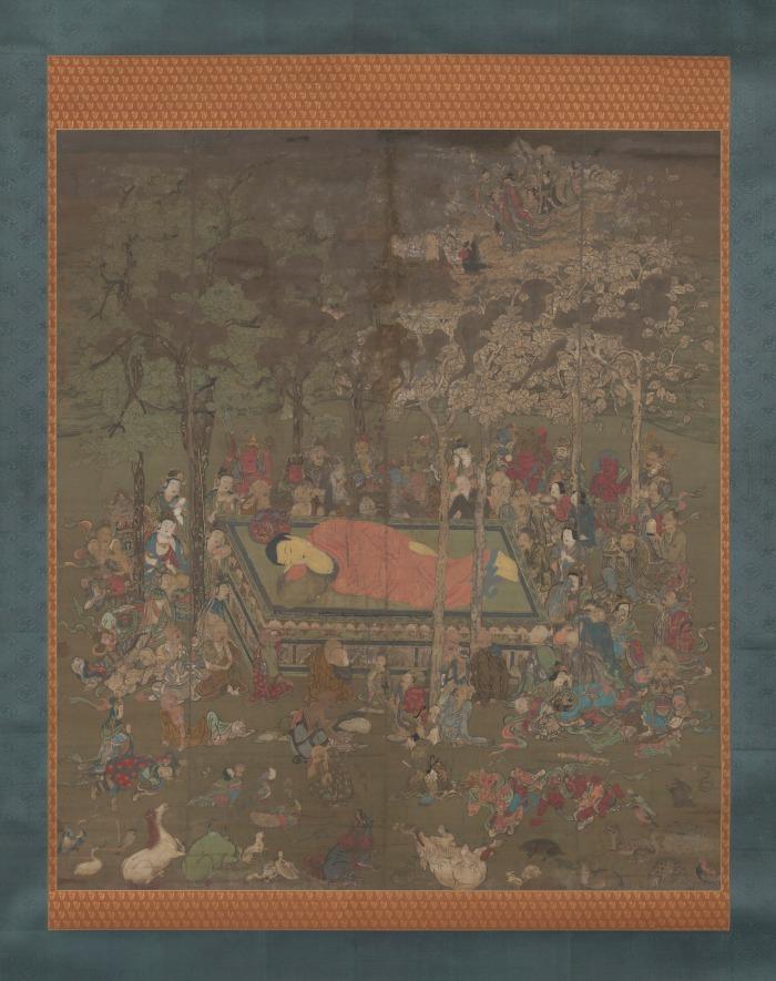 The Death of the Buddha Sakyamuni (Nehan-zu)