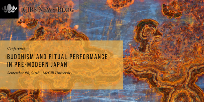 Buddhism and Ritual Performance in Pre-Modern Japan