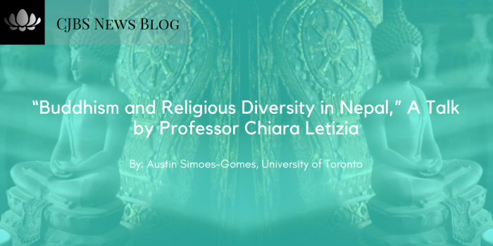 """Buddhism and Religious Diversity in Nepal,"" A Talk by Professor Chiara Letizia"