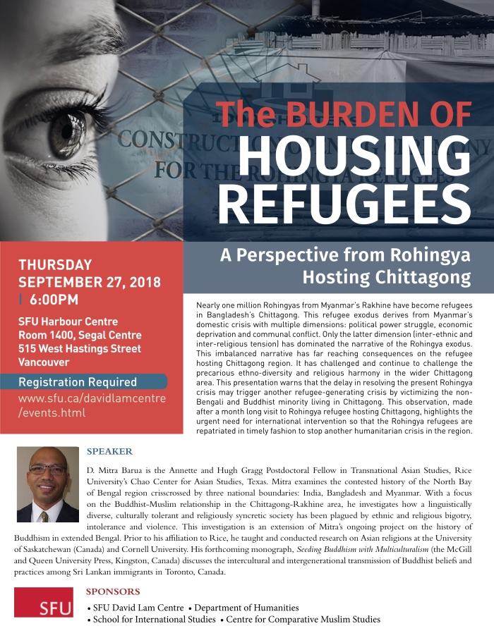 20180927 Burden of Housing Refugees