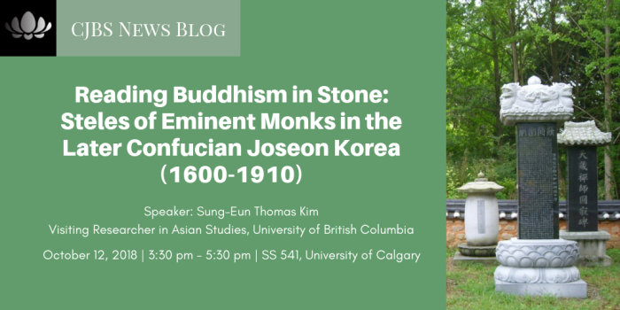 Reading Buddhism in Stone_ Steles of Eminent Monks in the Later Confucian Joseon Korea (1600-1910)