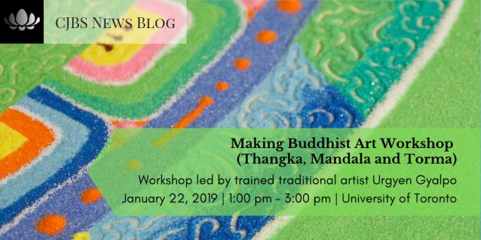 Making Buddhist Art Workshop (Thangka, Mandala and Torma)