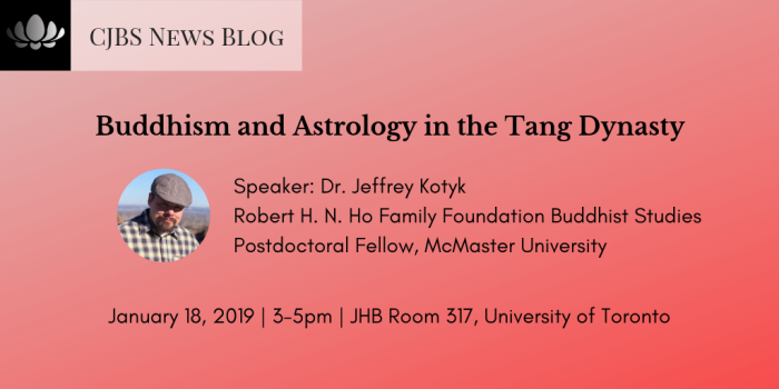buddhism and astrology in the tang dynasty
