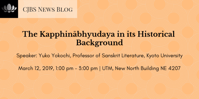 The Kapphinābhyudaya in its Historical Background